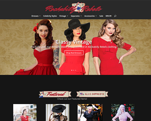 Rockabilly Rebels Clothing